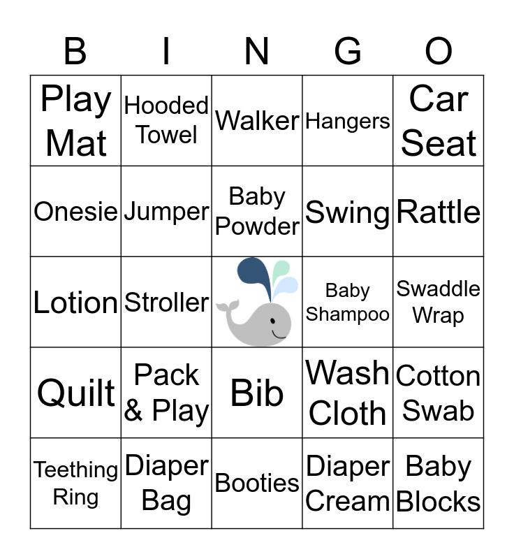 BABY MORAN Bingo Card