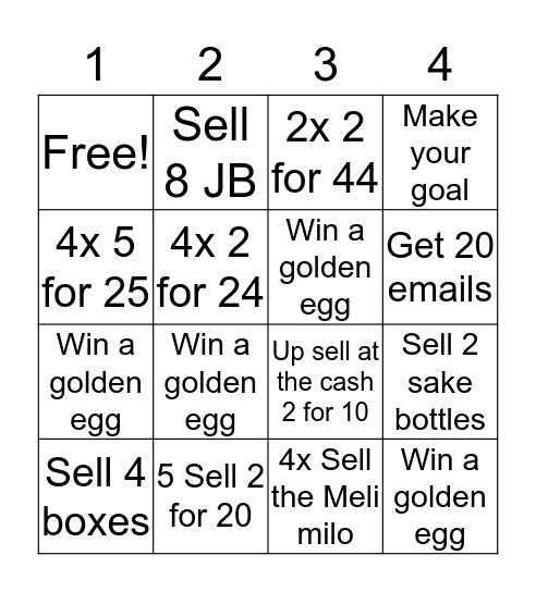 Squish Easter Bingo   Bingo Card