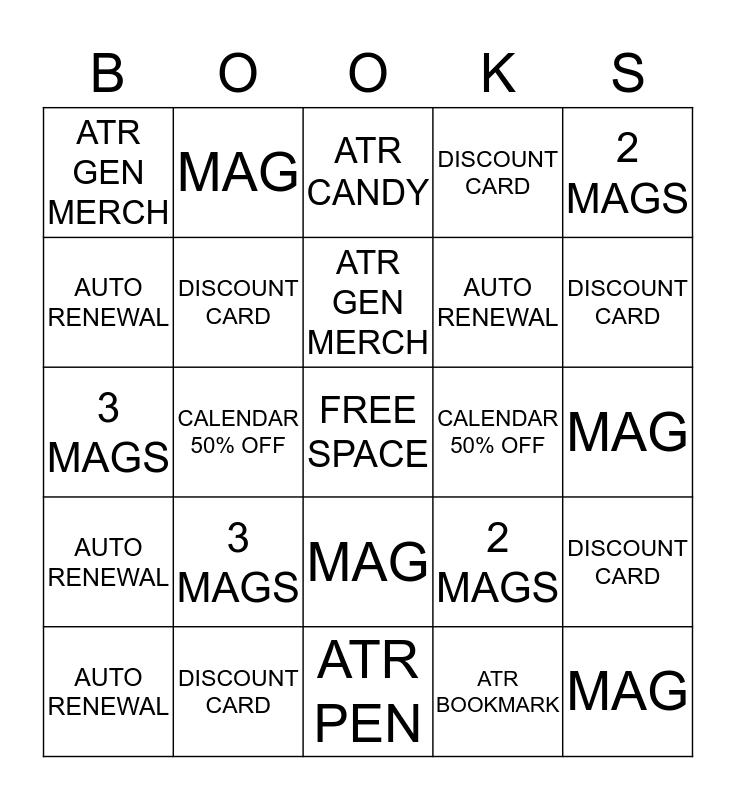 Let Me Buy Books!!  Bingo Card
