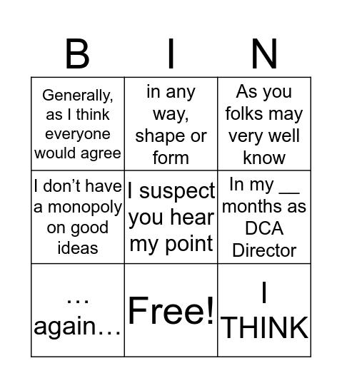 DEANGO! - game ends 4/17 2pm Bingo Card