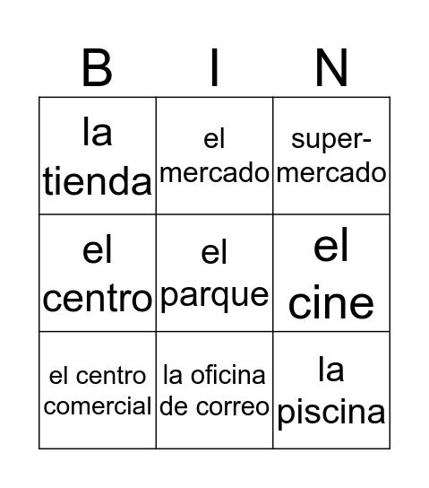 La ciudad Bingo Card