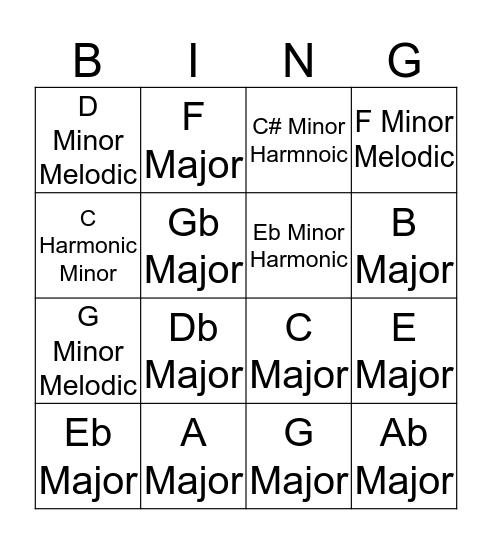 TECHNIQUE BINGO 2019 Bingo Card