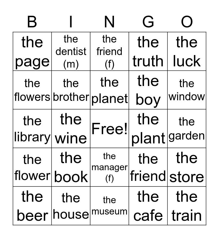 ejercicio 1.3 Bingo Card