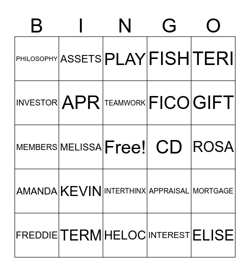 Make Their Day  Bingo Card