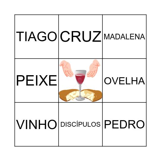 Páscoa Bingo Card