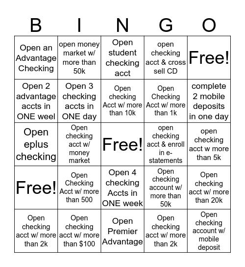 Spring Break B I N G O Bingo Card