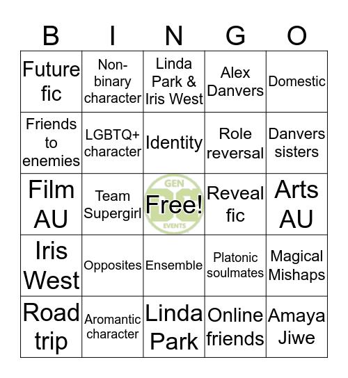 DCTVGen Bingocards Bingo Card