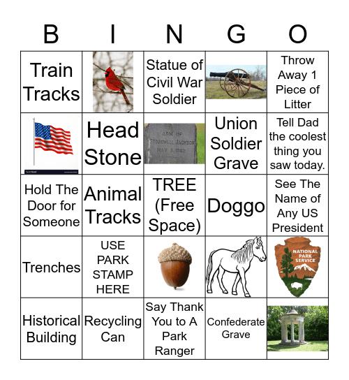 2019 Junior Ranger Bingo  Bingo Card