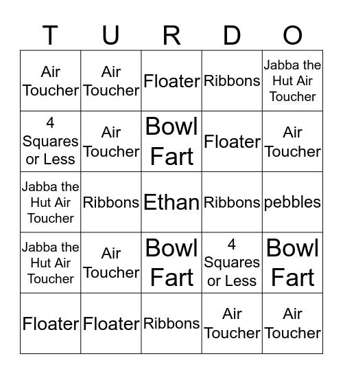 TURDO Bingo Card