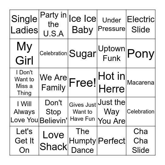 It's Wedding Season Bingo Card