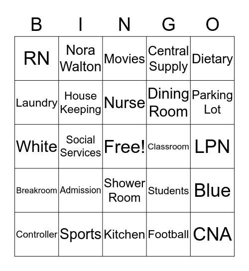 Employee Bingo  Bingo Card