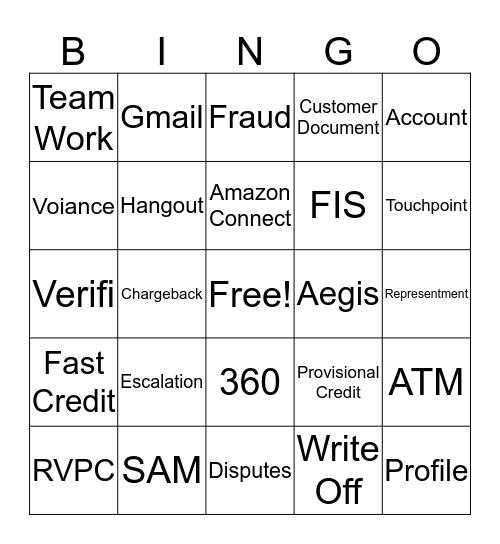 CPC Bingo Card