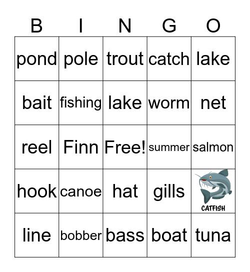 O'Fish-al Bingo Card