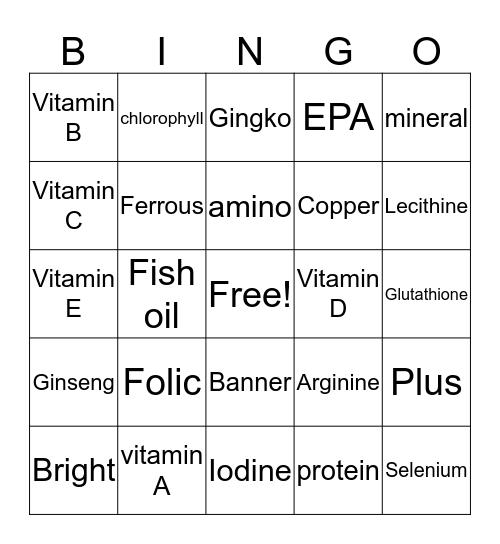 Banner Me !!!! Bingo Card