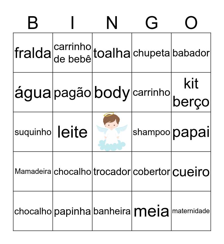 Chá do Miguel Bingo Card