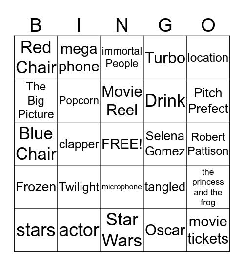 Welcome to Baileiwood Bingo Card