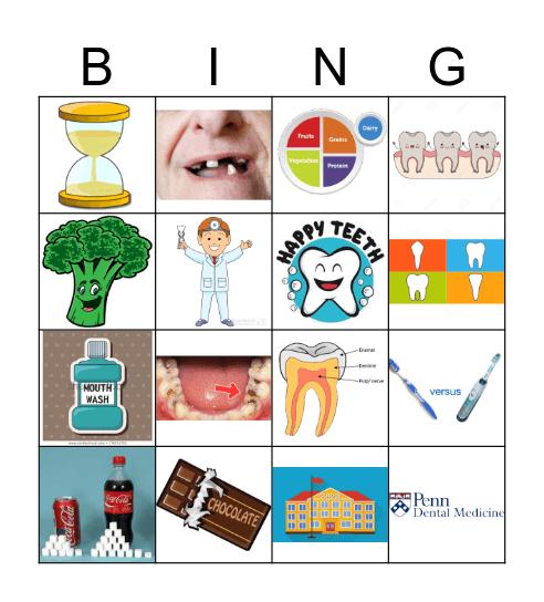 Older Kids Bingo Card