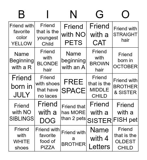 Bingo #13 Bingo Card
