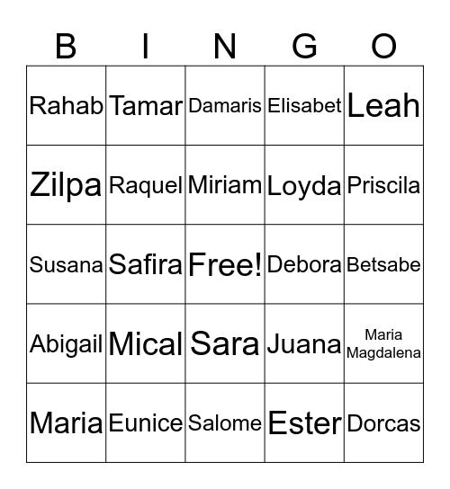 Bingo Entre Ellas Bingo Card