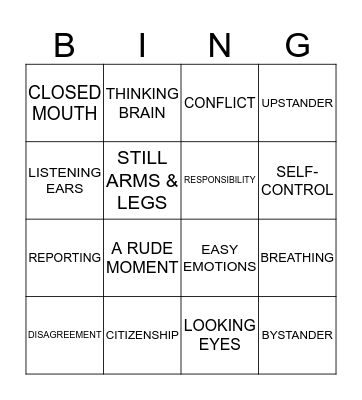 We are SKDA! Bingo Card