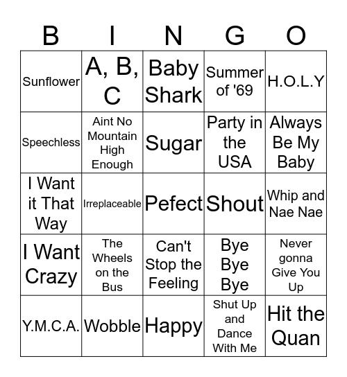 Singo !! Bingo Card