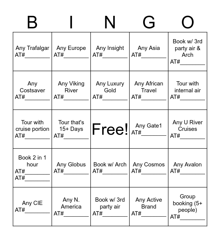 Summer Expo Bingo! Bingo Card