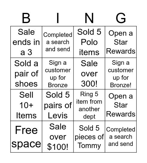 FRIENDS & FAMILY BINGO!!  Bingo Card