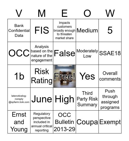 Wild Card Bingo Card