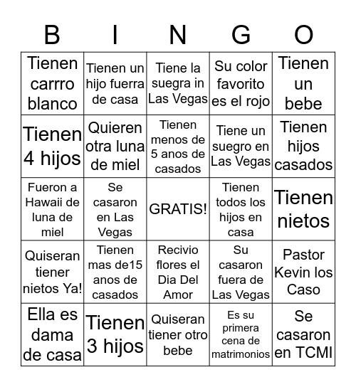 El Amor todo lo puede... Bingo Card