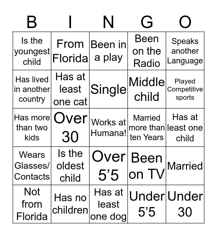CHE BINGO!!!! Bingo Card