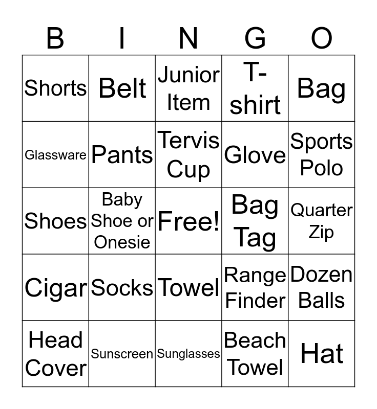 GoGoGomez WEAVing through the Shop Bingo Card