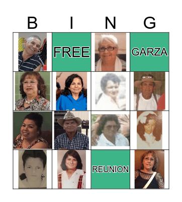 Garza Bingo Card