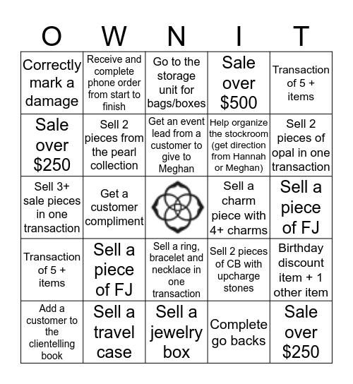 KS Bingo Card