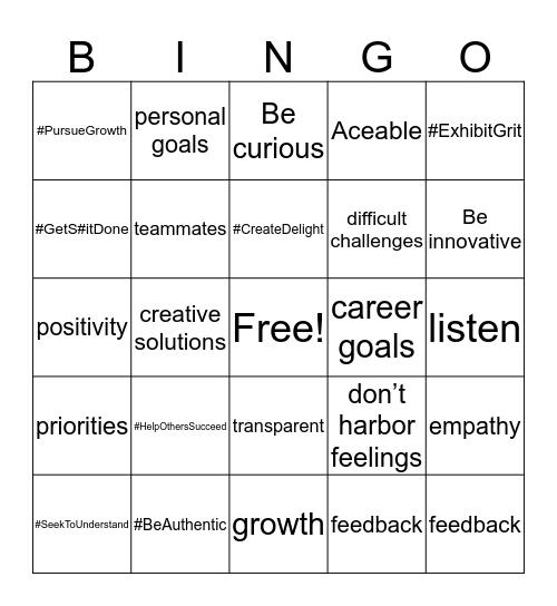 What makes us Aceable Bingo Card