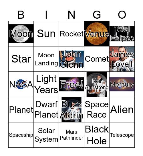 To Infinity and Beyond... Bingo Card
