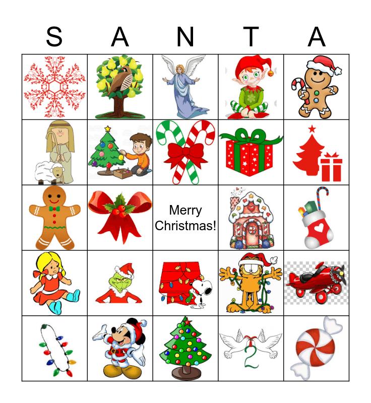 Lavrock Christmas Bingo Card