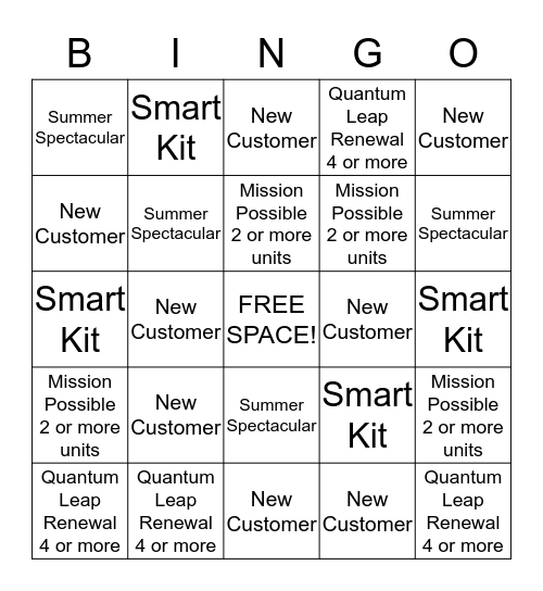 Money Madness - 2/24 - 4/30 Bingo Card