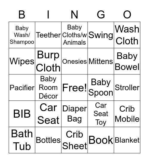 Gio's Gift Bingo  Bingo Card