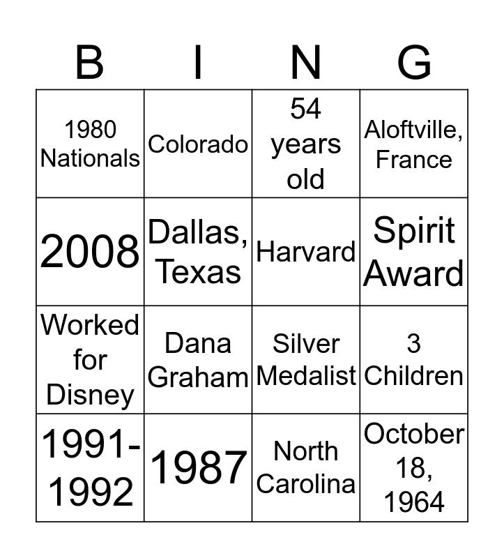Paul Wylie Bingo! Bingo Card