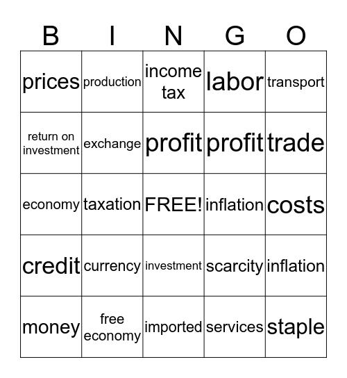 Kingdom of Mocha Bingo Card