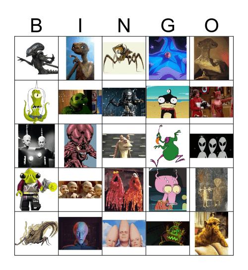 Area 51 Bingo Card