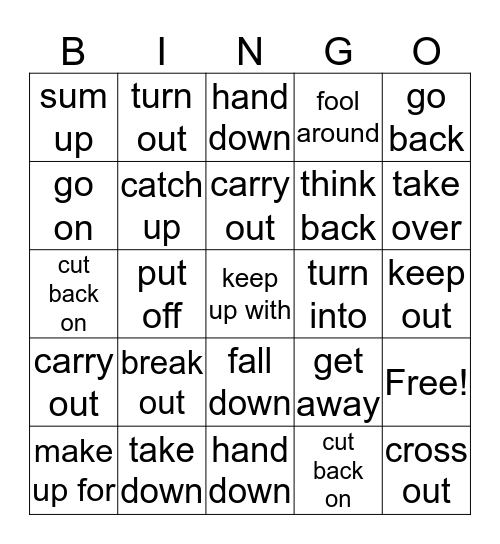 Random from PV6-10 Bingo Card