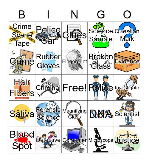 Mystery Bingo Card