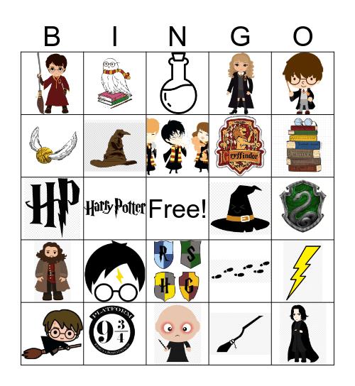 HARRY POTTER! Bingo Card
