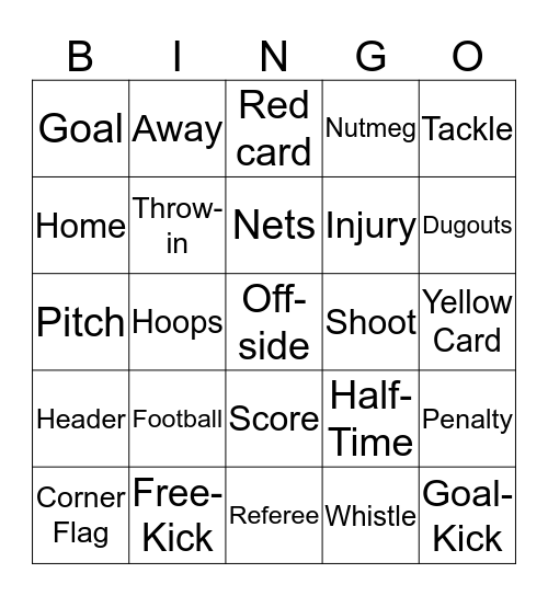 Dyce Juniors FC - Ladies Day 2019 Bingo Card