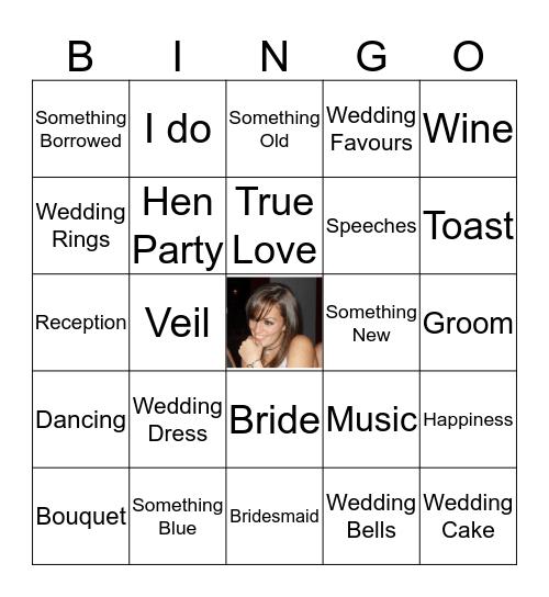 Jenni's Hen Party  Bingo Card