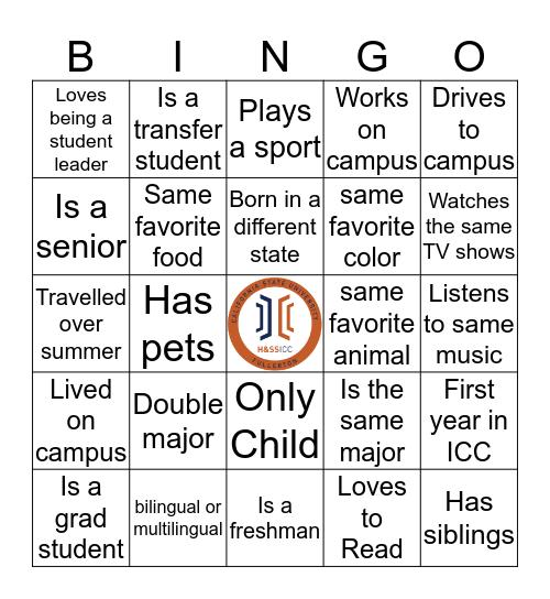 H&SS ICC Bingo Card