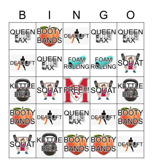 FITNESS CENTRE  -  GROUP X PROMO Bingo Card