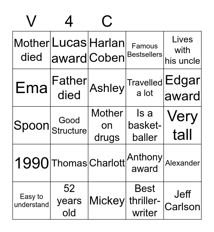 Shelter               hoi Bingo Card