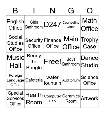 Welcome to Blake Bingo Card